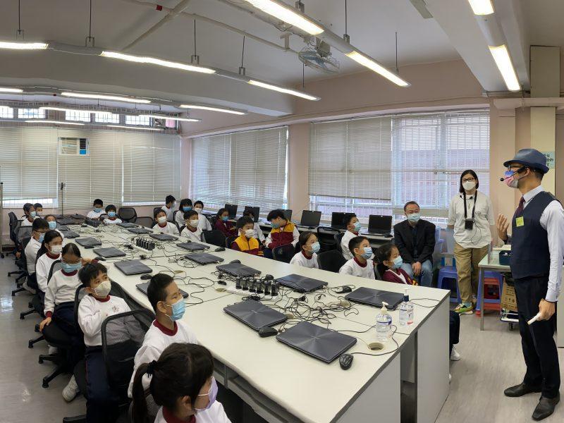 中醫講座 – 小學校訪活動 – 獻主會小學